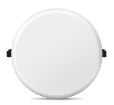 Painel LED Infinity Redondo 15W 3000K Bivolt Branco