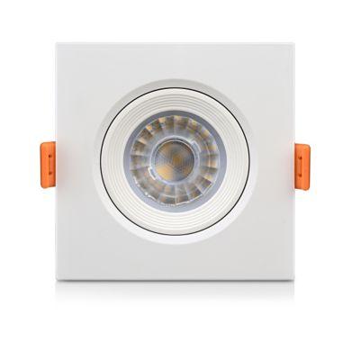 Luminária Redonda Direcionável Ecospot 5W 6500K com Lente Bivolt Branco