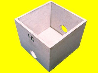 Caixa De Inspeção De Concreto Sem Tampa 50X50