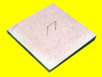 Tampa Com Alça Para Caixa De Gordura E Inspeção De Concreto 35X35