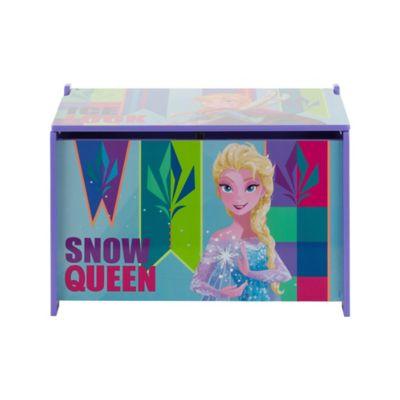 Baú Organizador Frozen 60x36cm Azul