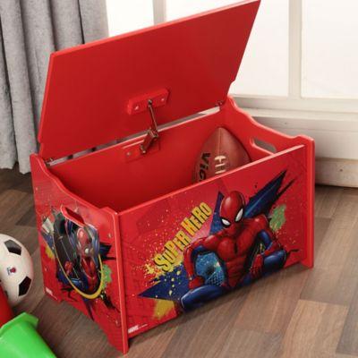 Baú Organizador Spiderman 60x36cm Vermelho