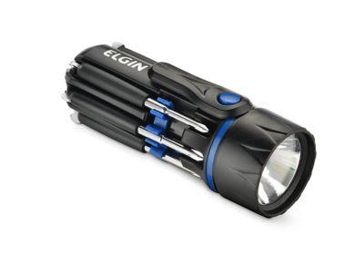 Lanterna De Mão 45 Lumens Com 4 Chaves De Fenda E 4 Chaves Phillips Incluídas Para Uso Com 3 Pilhas Palito Aaa Não Incluídas
