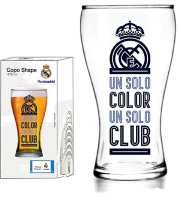 Copo Shape 470ml Real Madrid Transparente CLUBE