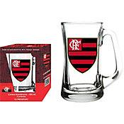 Caneca Scandinavia 355ml Flamengo Transparente