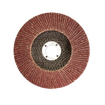 Disco Flap Grão 80 Diâmetro 115x22mm Vermelho