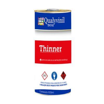 Qualyvinil Thinner Diluição 900 ml
