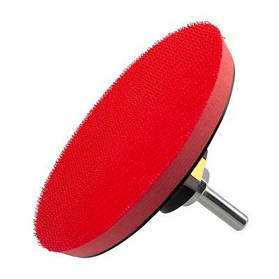 Suporte de Boina com Velcro para Furadeira 115mm Vermelho