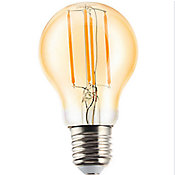 Lâmpada de Filamento LED Bulbo 6W A60 E27 Âmbar