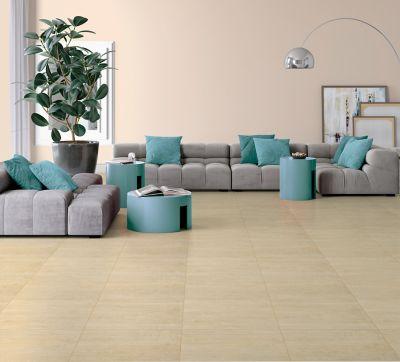Piso Wood Cement 61x61cm Caixa 2,23m² Retificado Bege