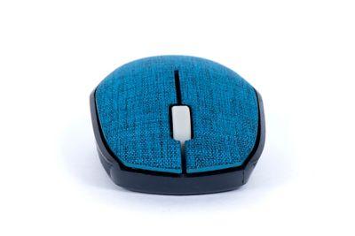 Mouse sem Fio Tissu Azul