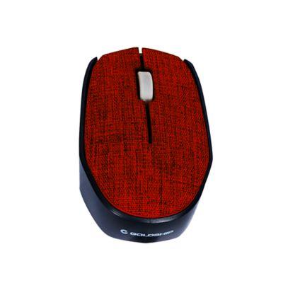 Mouse sem Fio Tissu Vermelho