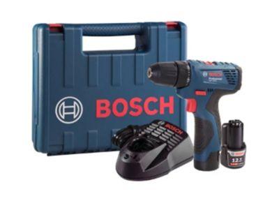 Parafusadeira e Furadeira a Bateria GSR 120-LI Bivolt  Bosch