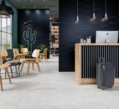 Porcelanato Esmaltado Conection Silver 120x120cm Caixa 2,88m² Retificado Cinza