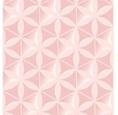 Tecido Adesivo Bobina 50x300cm Flor 3D Rose