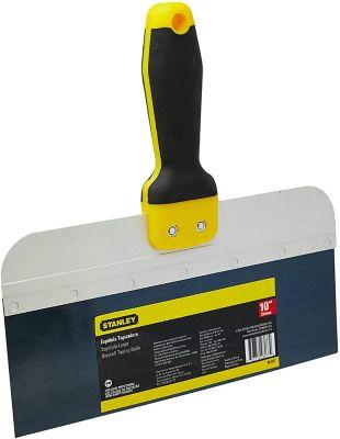 """Espátula para Drywall 10"""" 254mm Amarelo e Preto Stanley"""