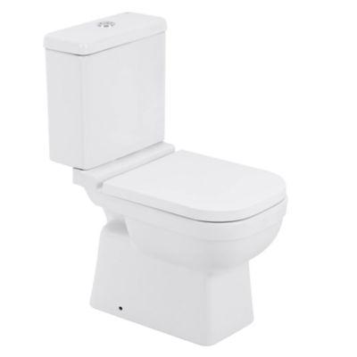 Kit Completo Elite Bacia com Caixa Assento e Fixação Branco
