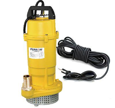 Bomba Submersão 0,5Cv Água Suja - Partículas Até 5mm - 19M - 5.600 L/H