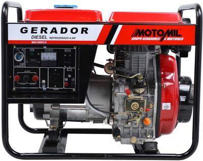 Gerador a Diesel 110/220V MDG5000CLE