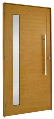 Porta Lambri e Visor Alumínio Carvalho Esquerda 210x100x8,6cm Topsul