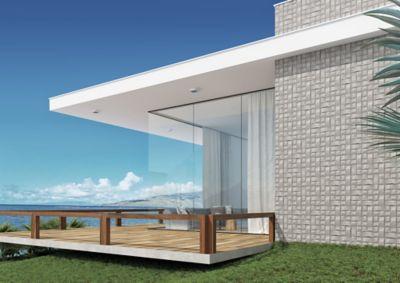 Revestimento Natural Space Block SGR 20x20cm Retificado Cinza Claro