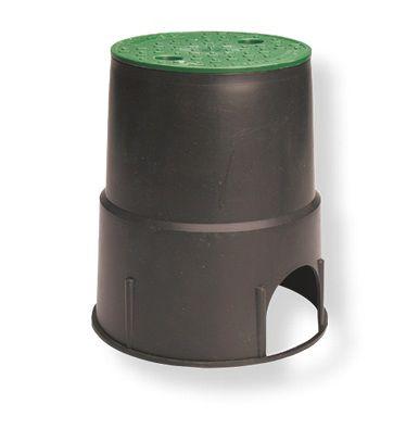 Microaspersor Idra 360° Ajustável 0 a 100 L/H Completo com Estaca e Microtubo Preto