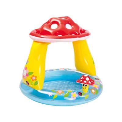Piscina Inflável Cogumelos Baby Colorido