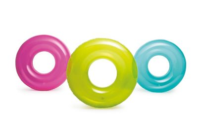 Boia Inflável Circular Transparente Sortido