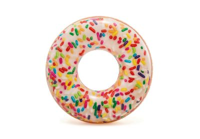 Boia Inflável Circular Donut Multicolorido
