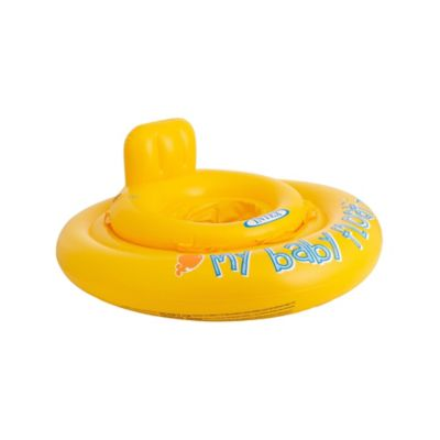 Boia Inflável Baby Float Amarelo