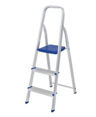 Escada 5101 112x39x56cm Alumínio Azul