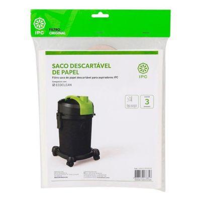 Filtro Descartável Ecoclean Pacote com 3 Unidades