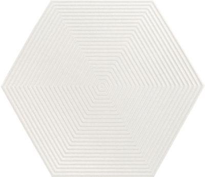 Revestimento Love Hexa WH MLX 17,5x17,5cm White