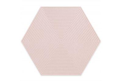 Revestimento Love Hexa SPK MLX 17,5x17,5cm Soft Pink