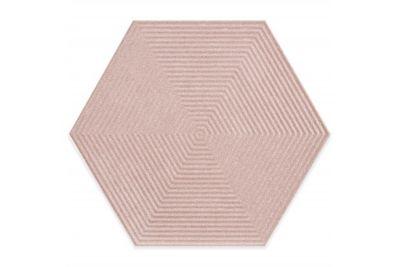 Revestimento Love Hexa PK MLX 17,5x17,5cm Pink