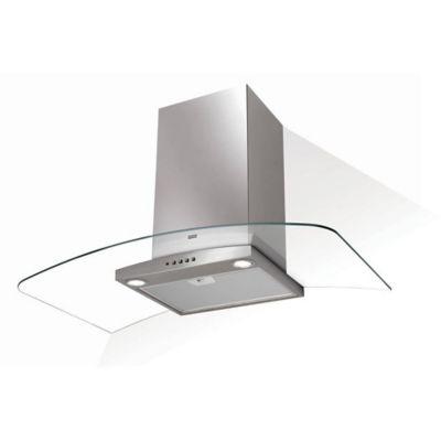 Coifa de Parede Vidro Curvo Glass Ray 90 cm  127V