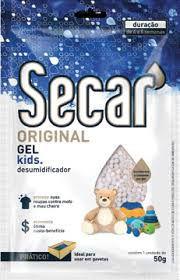 Desumidificador Secar Gel Kids 50g