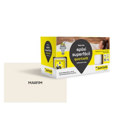 Rejunte epoxi Superfacil 1kg  Marfim