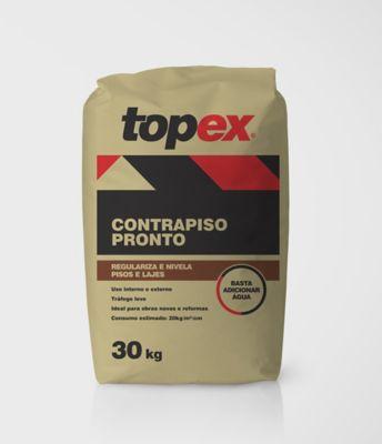 Contrapiso Pronto 30kg Cinza