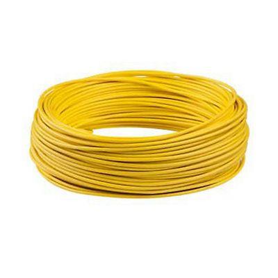 Cabo Flexível 6mm2 Amarelo Rolo 50M