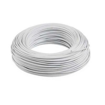 Cabo Paralelo 2X1,5mm2 Branco Rolo 10M