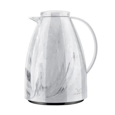 Bule Viena  Marble Branco Carrara 0,75l