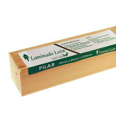 Pilar Laminado Pinus Seco Estufa
