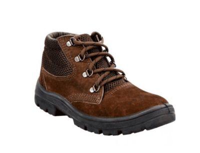 Sapato Nobuck Cadarço PU Monodensidade N36 Marrom