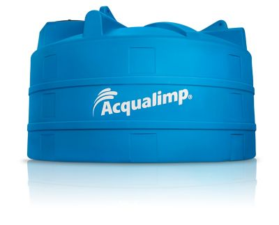 Caixa De Água 6.000L Polietileno Tampa Rosca Azul