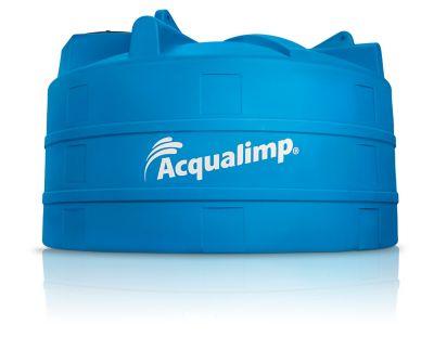 Caixa De Água 10.000L Polietileno Tampa Rosca Azul
