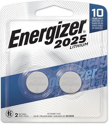 Bateria 2025 Lítio Com 2 Unidades