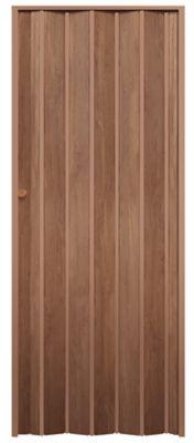 Porta Sanfonada  PVC Decor Wood 70x210cm Castanho