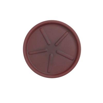 Base Redonda 24x3cm Antique Vermelho
