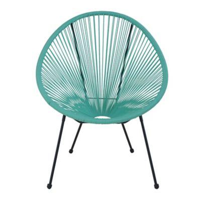 Cadeira Cozumel Ratan Verde